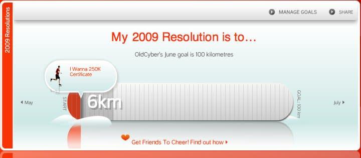 nike 2009 resolutions