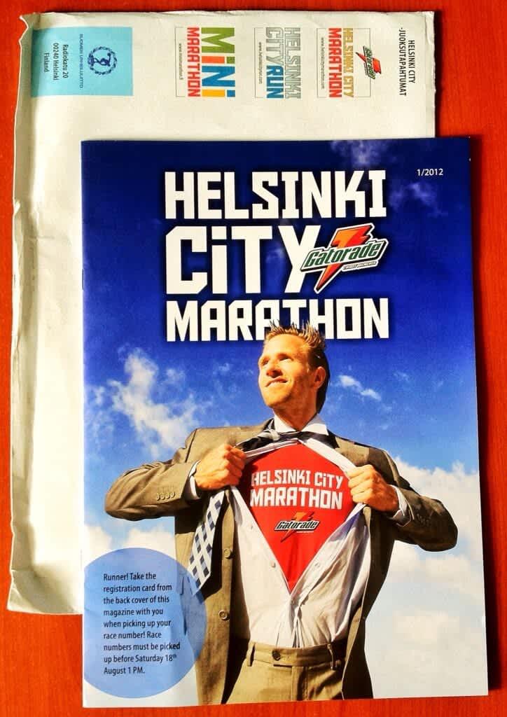 Helsinki City Marathon Magazine